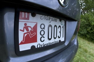 QOC MD License Plate