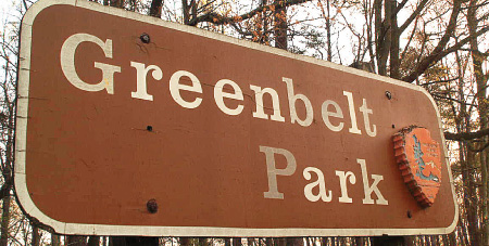 Greenbelt Park Sign
